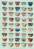 Gift wrap/poster Early English teabowls